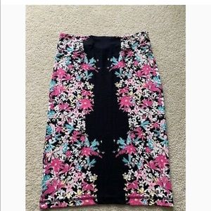 Brand new H&M maternity floral pencil skirt
